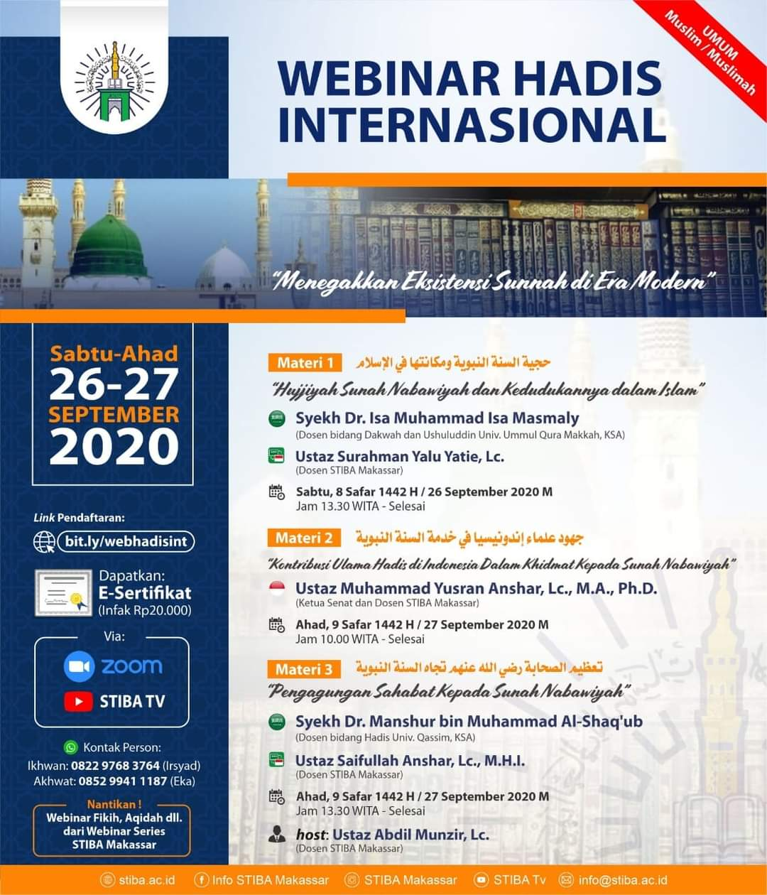 Webinar Hadis Internasional